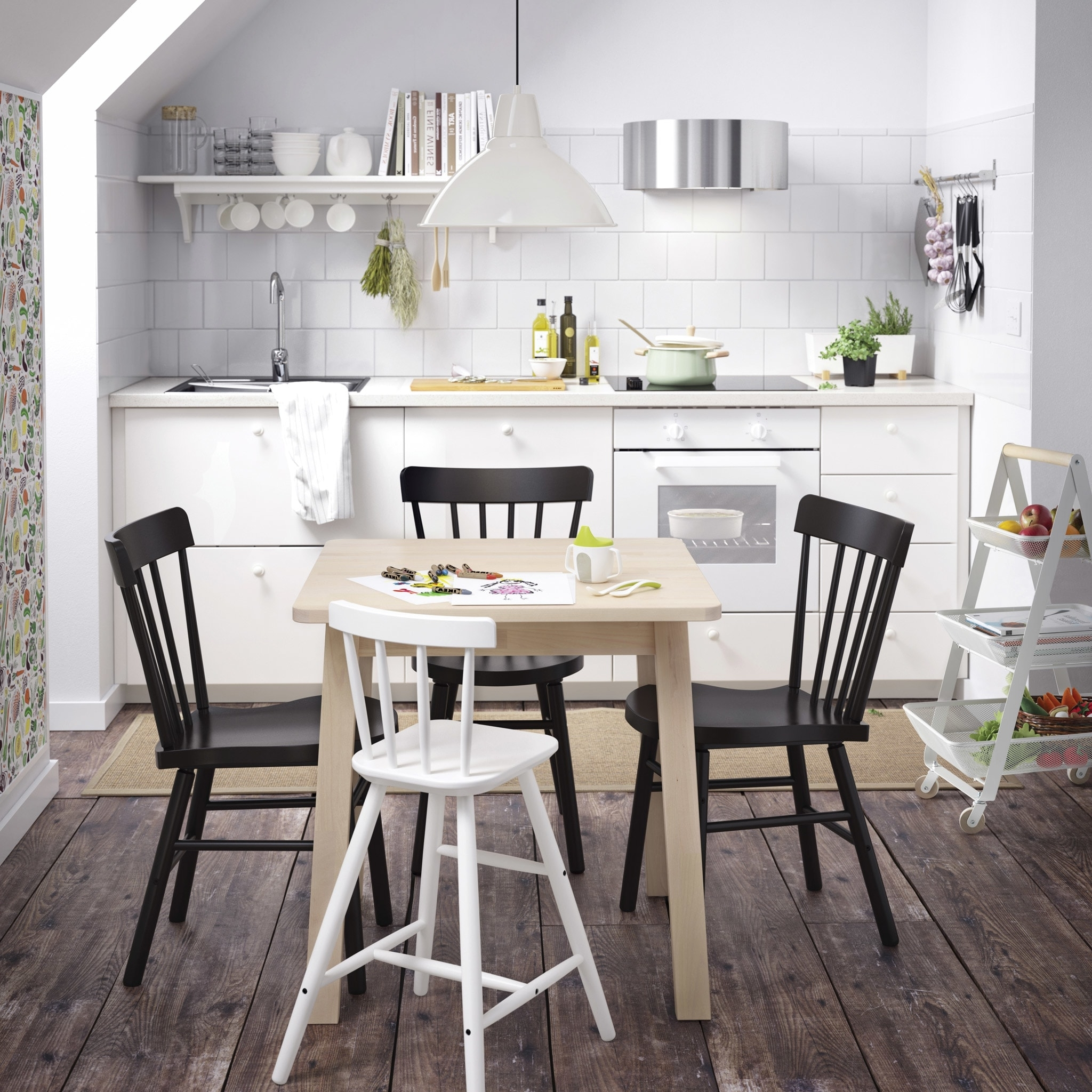 Ikea Inside Small Dark Wood Dining Tables (View 9 of 25)
