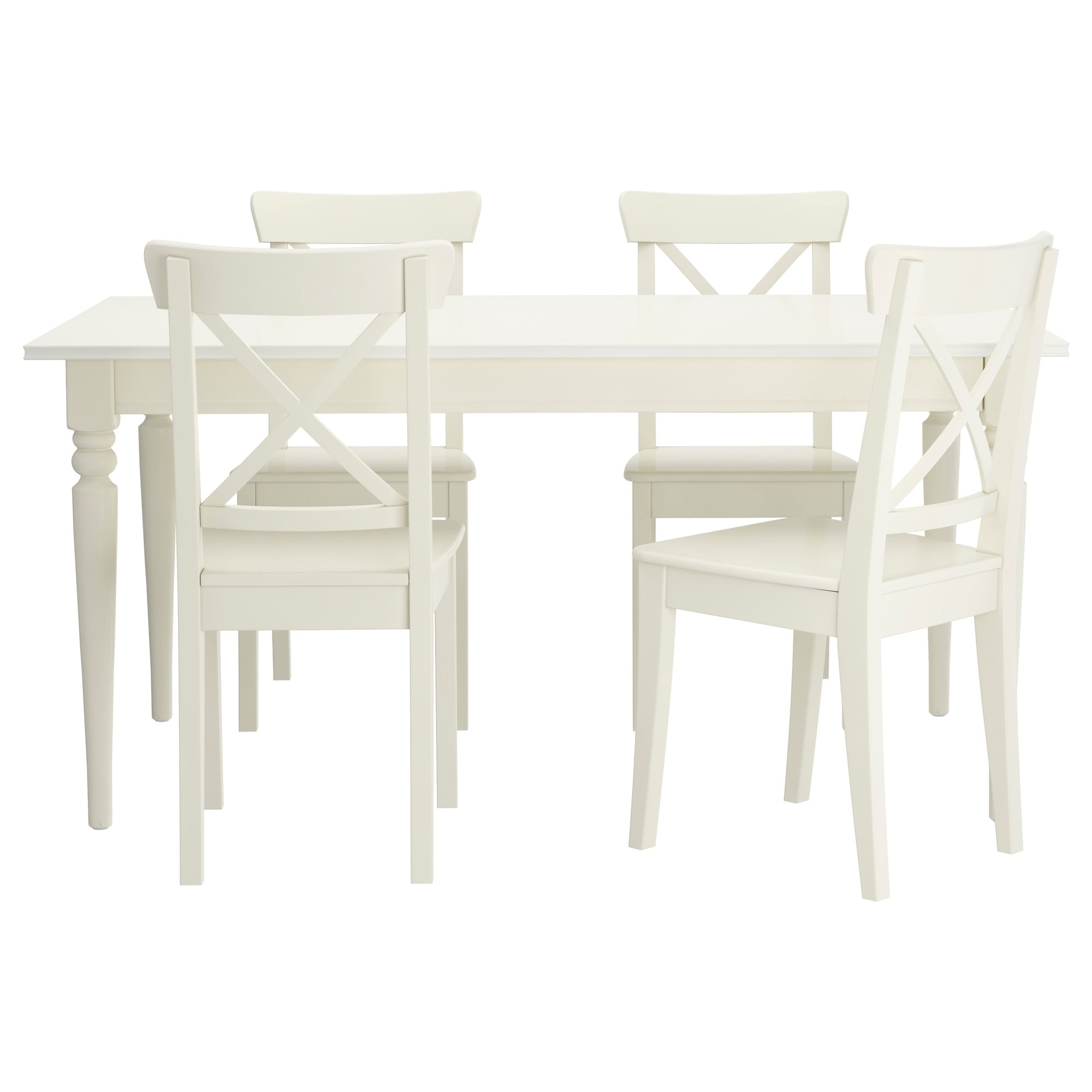 Ikea Pertaining To White Dining Tables And Chairs (View 7 of 25)