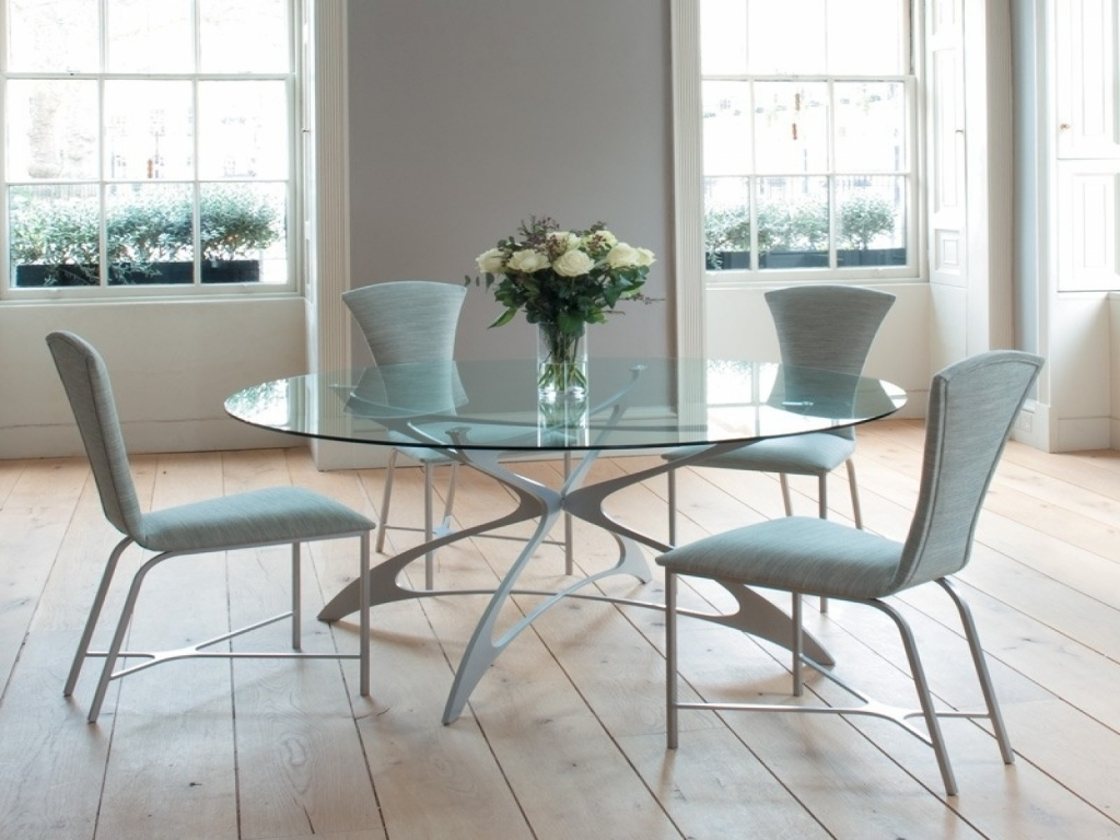 Ikea Round Glass Top Dining Tables pertaining to Recent Furniture Ikea Glass Top Dining Table Dining Room And Kitchen 1015