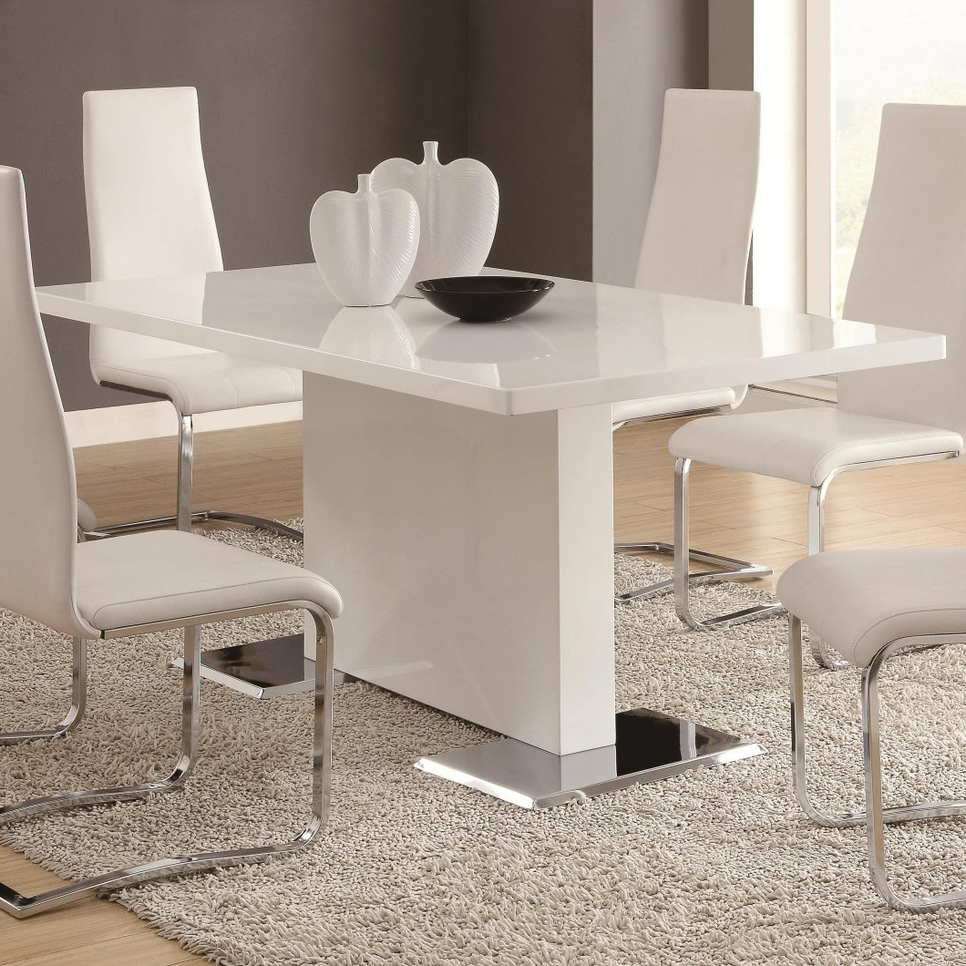 Image 11437 From Post: Contemporary Dining Room Sets – With Chairs Intended For 2018 Contemporary Dining Room Chairs (View 14 of 25)