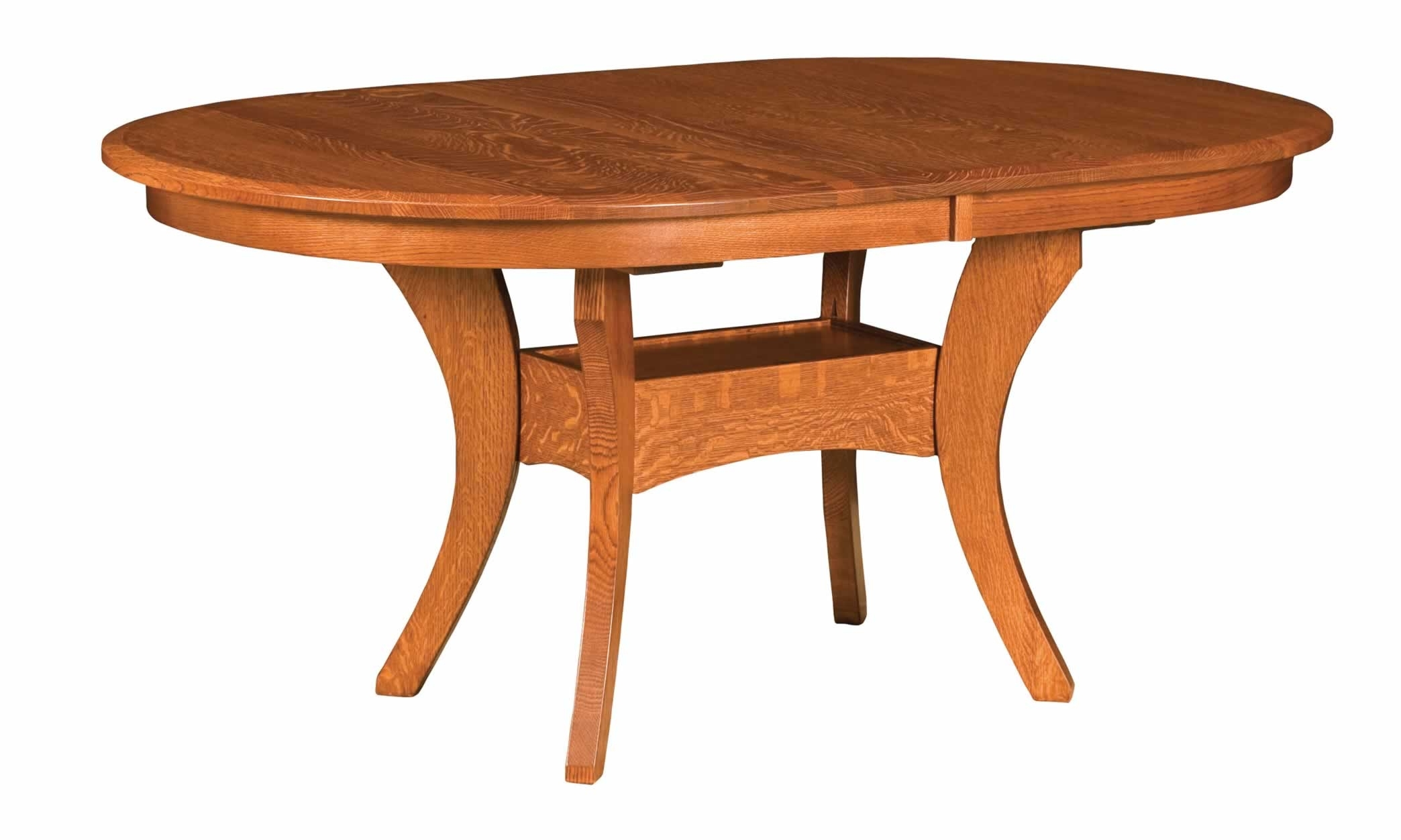 Imperial Dining Tables inside Latest Imperial Double Pedestal - Heartland Amish Furniture