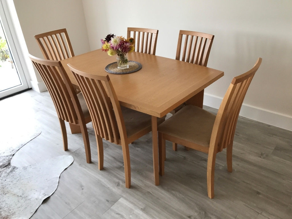 In Barnstaple, Devon Inside Beech Dining Tables And Chairs (Gallery 11 of 25)