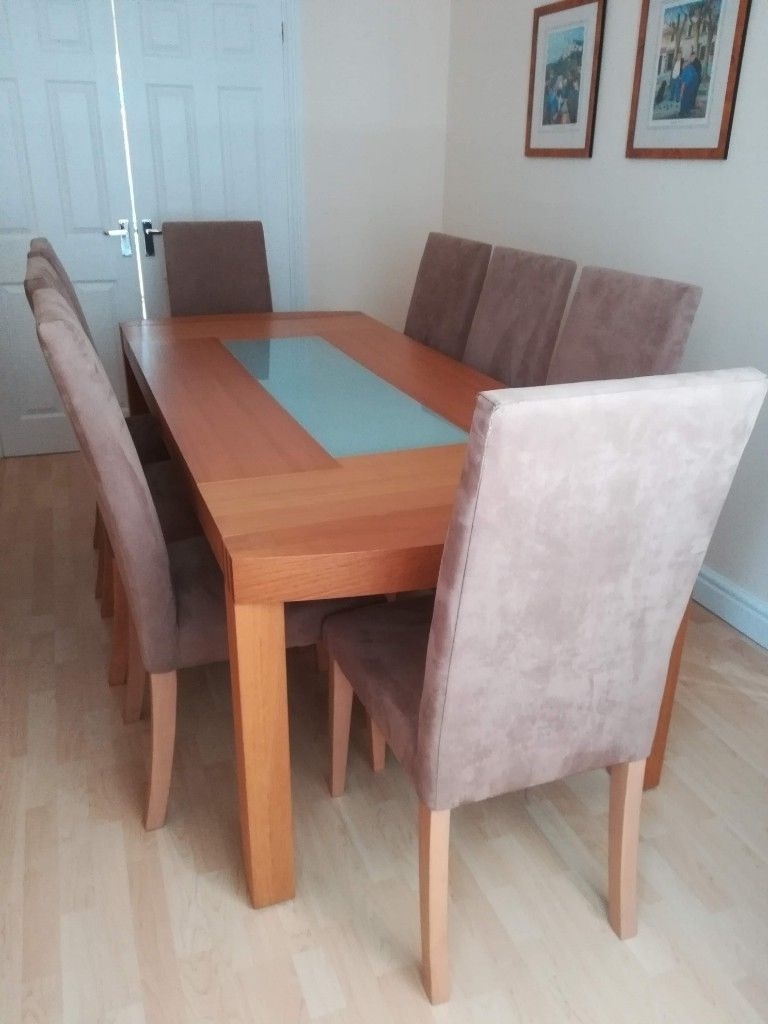 In Gowerton In Most Recently Released Oak Dining Tables 8 Chairs (View 13 of 25)