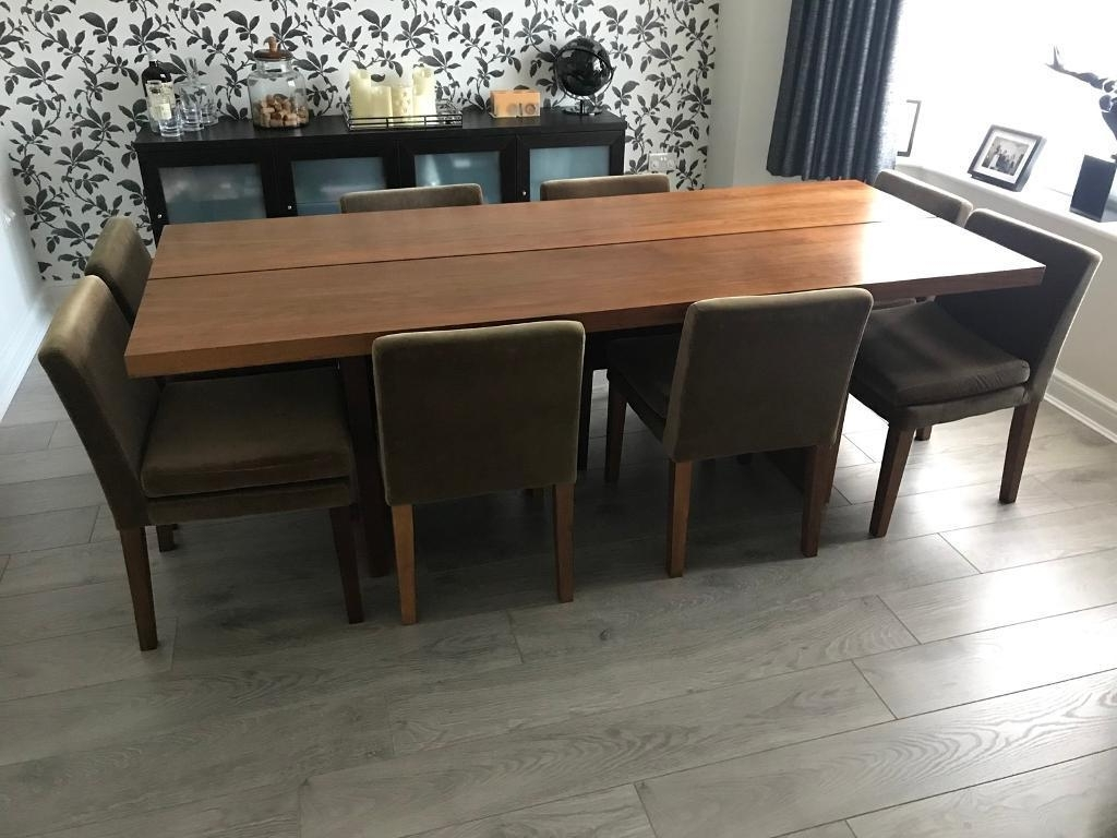 In Guildford Throughout Walnut Dining Tables And Chairs (Gallery 13 of 25)