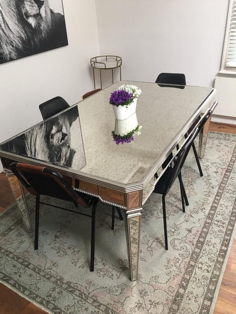 Featured Photo of Mirrored Dining Tables