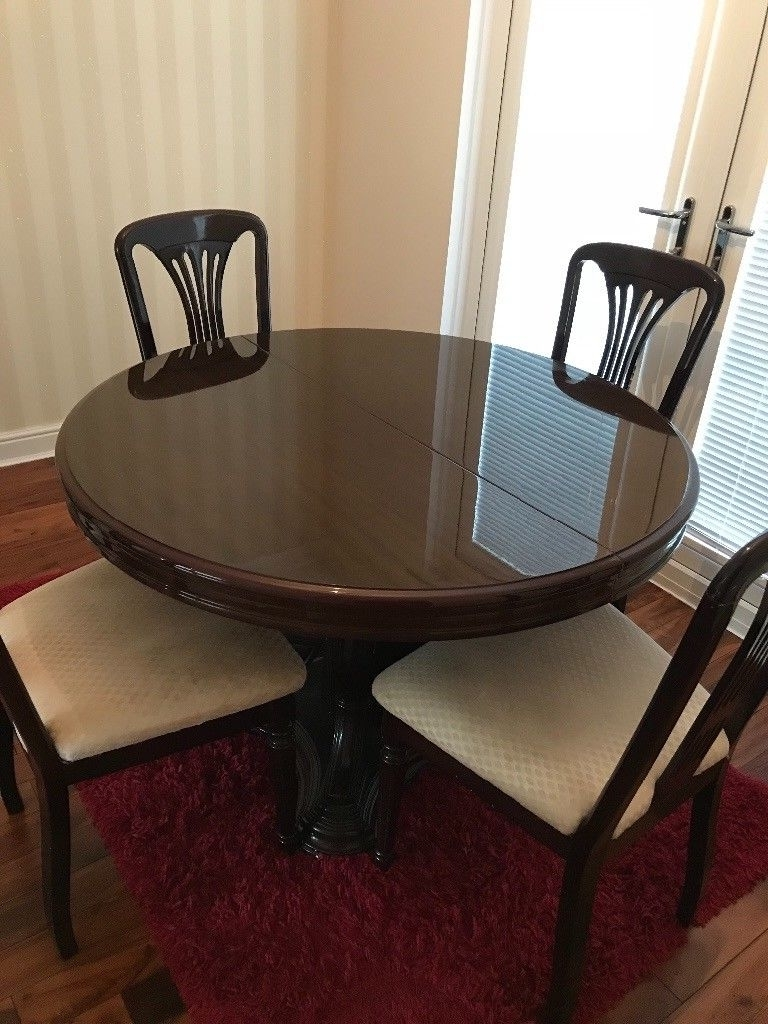 In Regarding Mahogany Dining Tables And 4 Chairs (View 9 of 25)