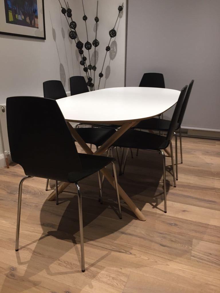 In Regarding White Melamine Dining Tables (Gallery 3 of 25)