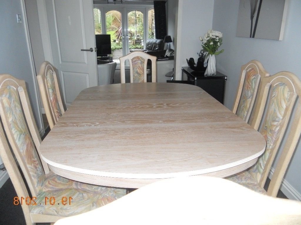 In Sandwell pertaining to Oak Extending Dining Tables And 6 Chairs