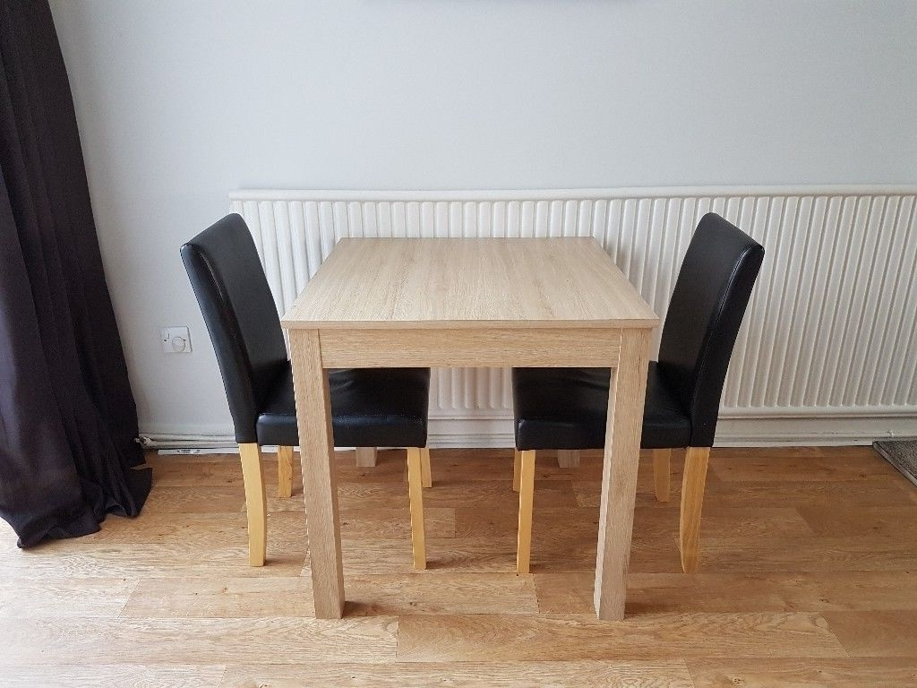 In Stockport Throughout Square Oak Dining Tables (Gallery 9 of 25)