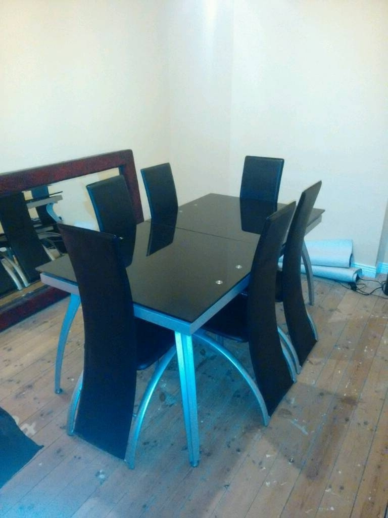 In Sunderland, Tyne And pertaining to Blue Glass Dining Tables