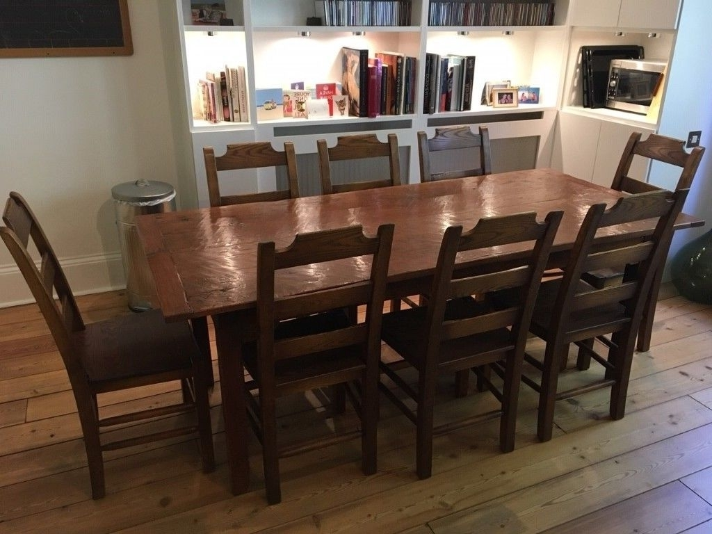 In throughout Recent French Farmhouse Dining Tables