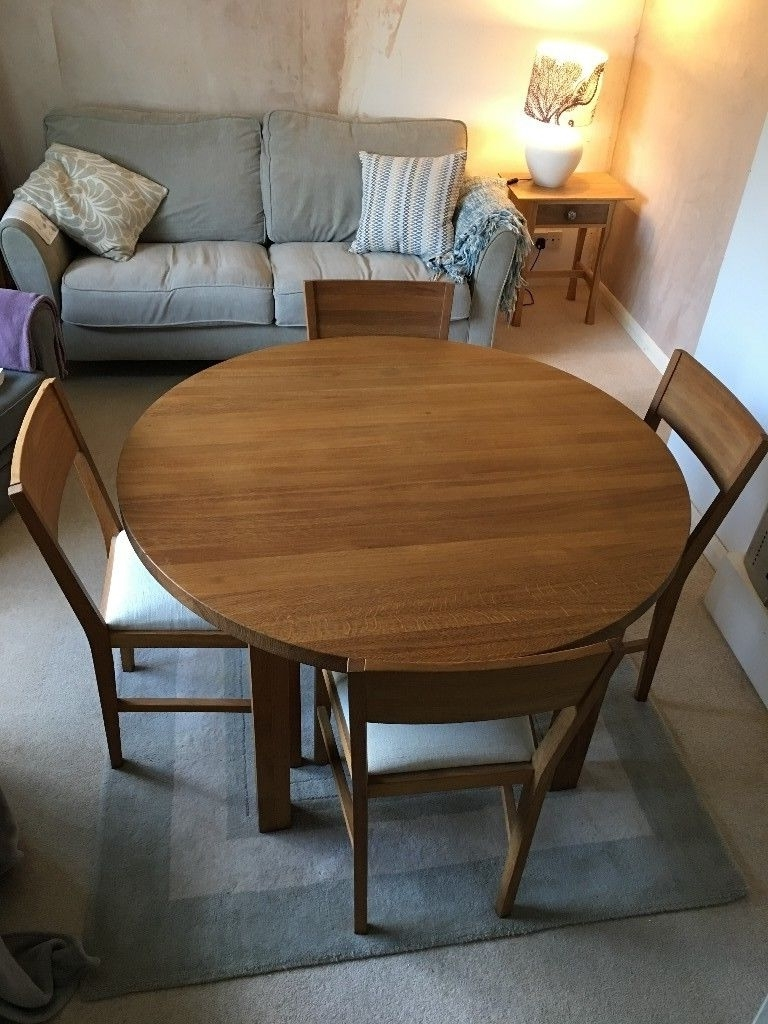 In Truro, Cornwall Within Round Oak Dining Tables And Chairs (View 9 of 25)