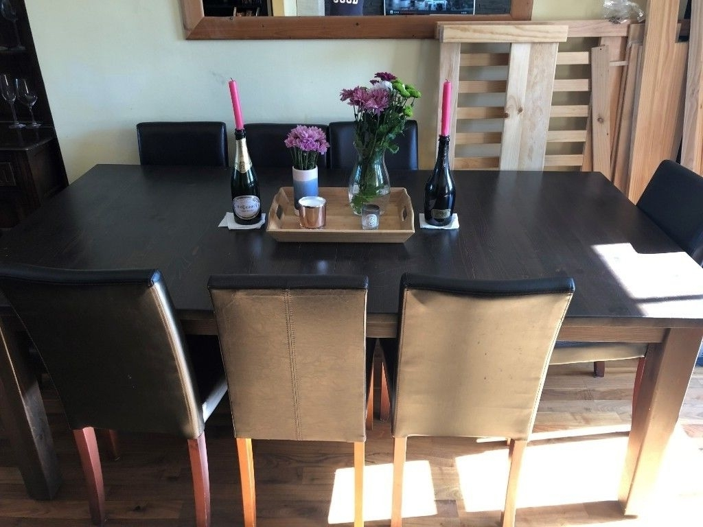In Victoria, London Intended For Fashionable Dark Wood Dining Room Furniture (View 14 of 25)