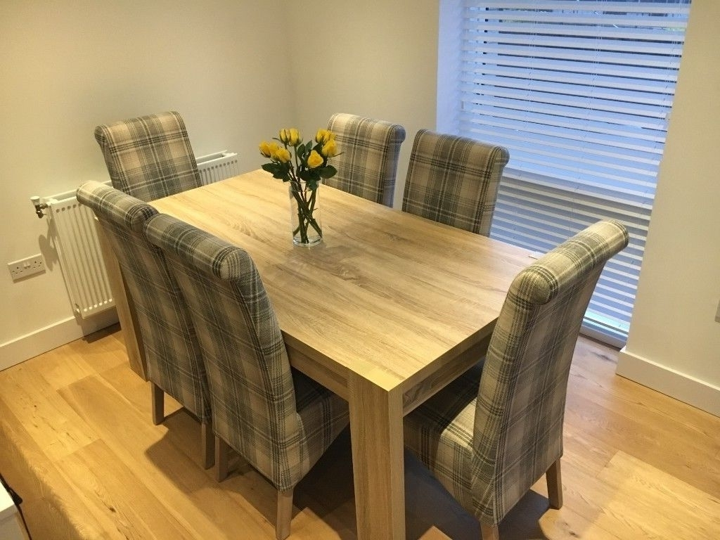 In With Regard To 8 Seater Oak Dining Tables (View 12 of 25)