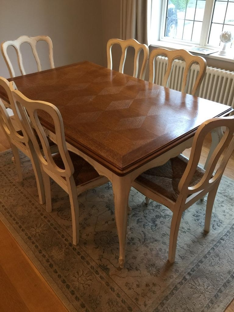 In With Regard To Preferred Shabby Chic Extendable Dining Tables (View 18 of 25)