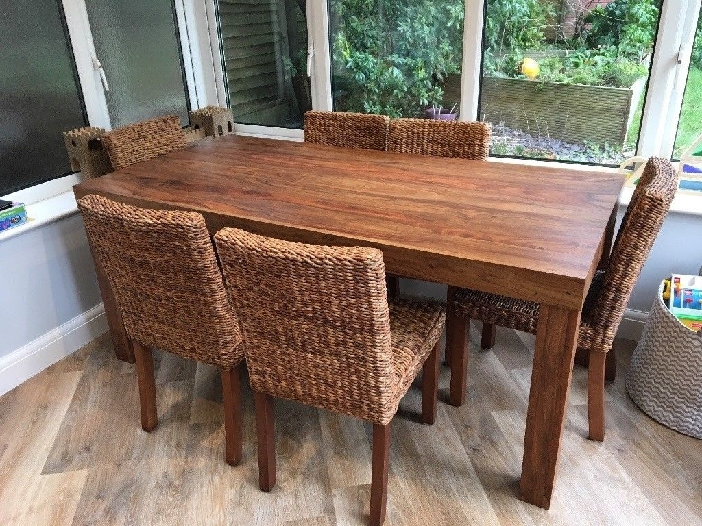 In Within Sheesham Dining Tables (Gallery 12 of 25)