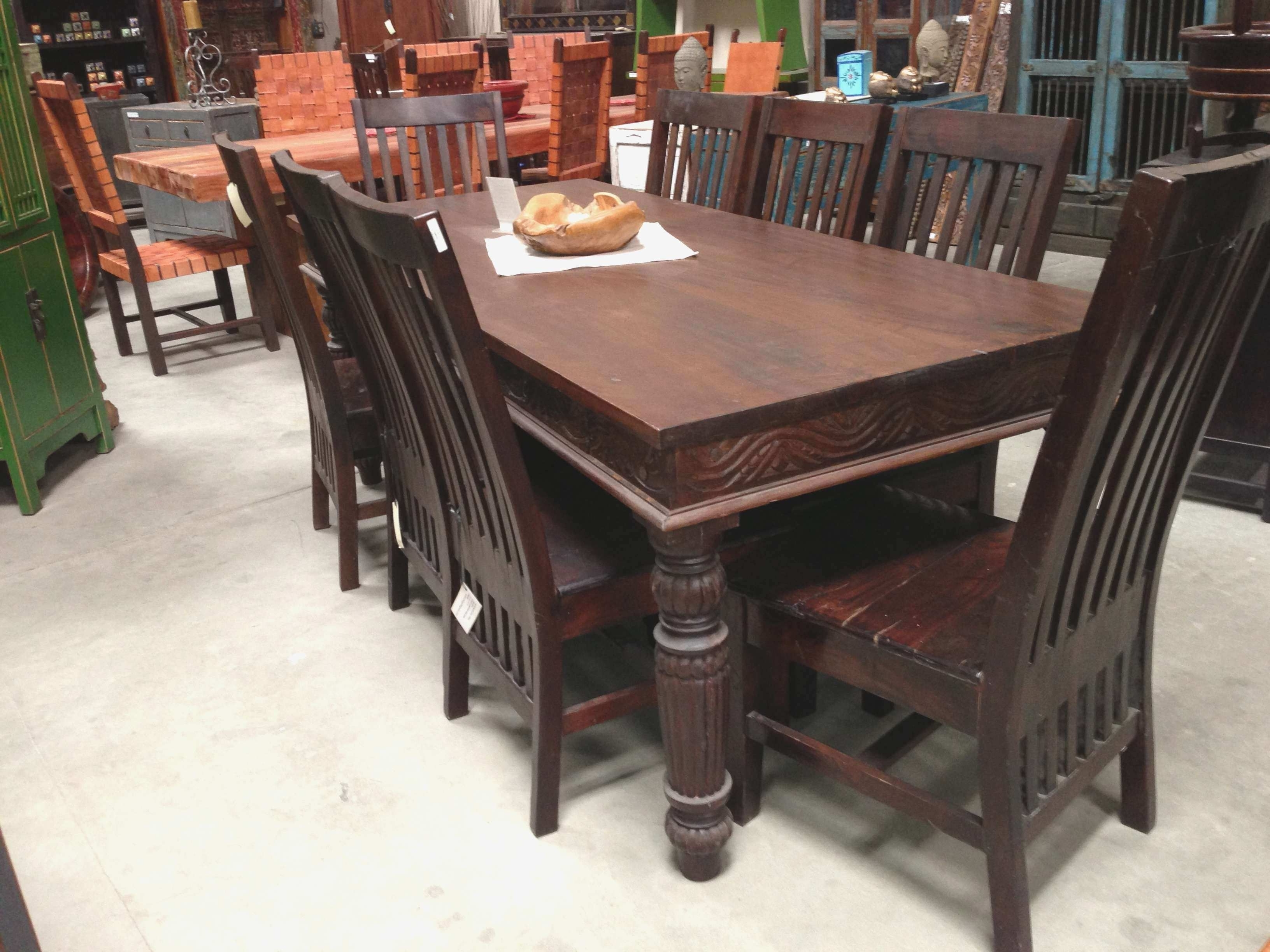 Indian Wood Dining Room Furniture (View 7 of 25)
