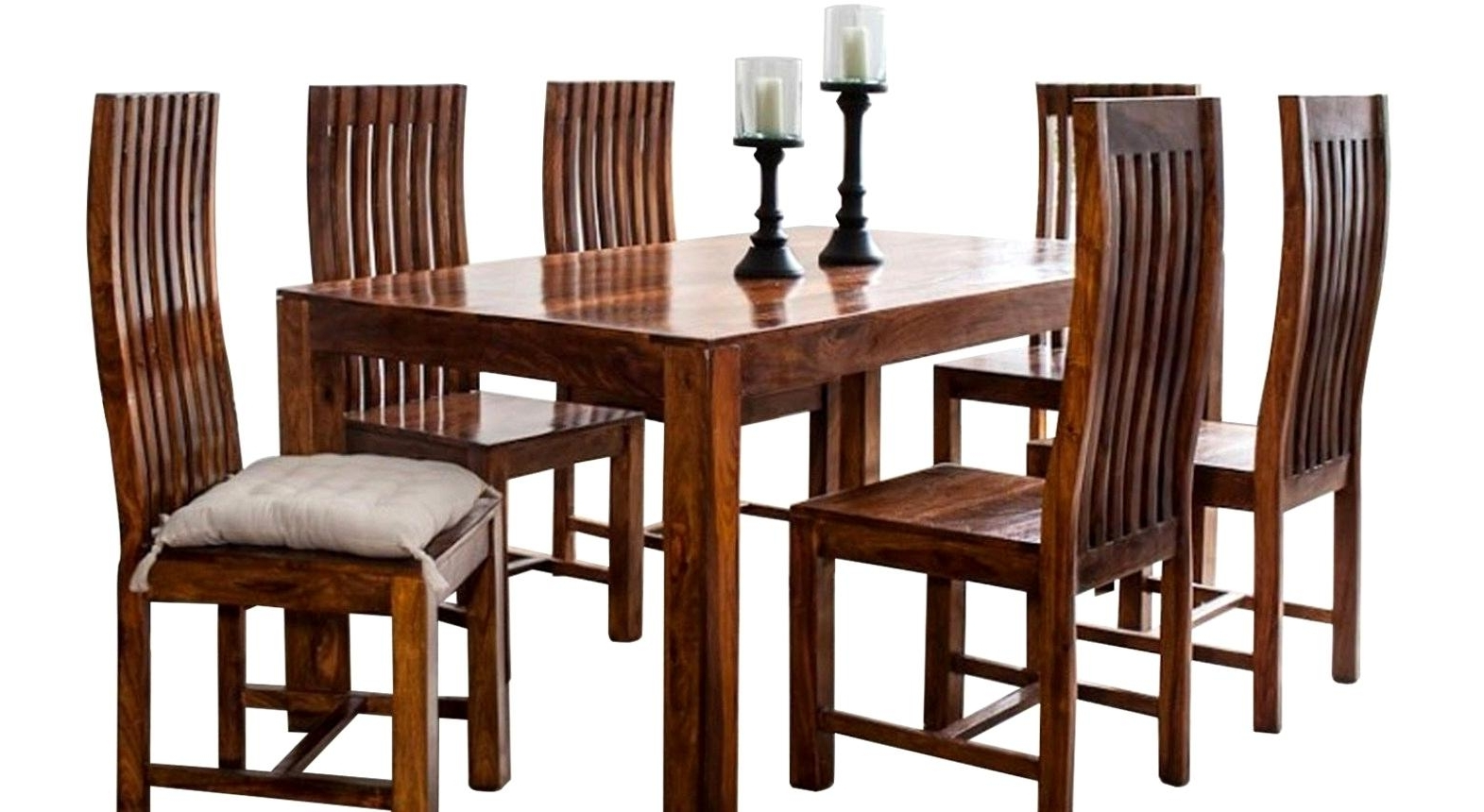 Indian Wood Dining Tables Regarding Most Popular Splendid Sheesham Wood Dining Table Cm Dining Table Indian And (Gallery 22 of 25)