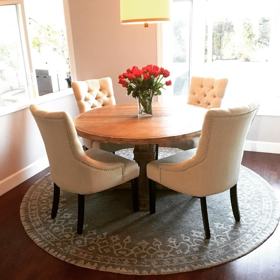 Insta Fan Ashleelynnespinosa Elevates The Everyday With Our Archer In 2018 Helms 5 Piece Round Dining Sets With Side Chairs (View 17 of 25)