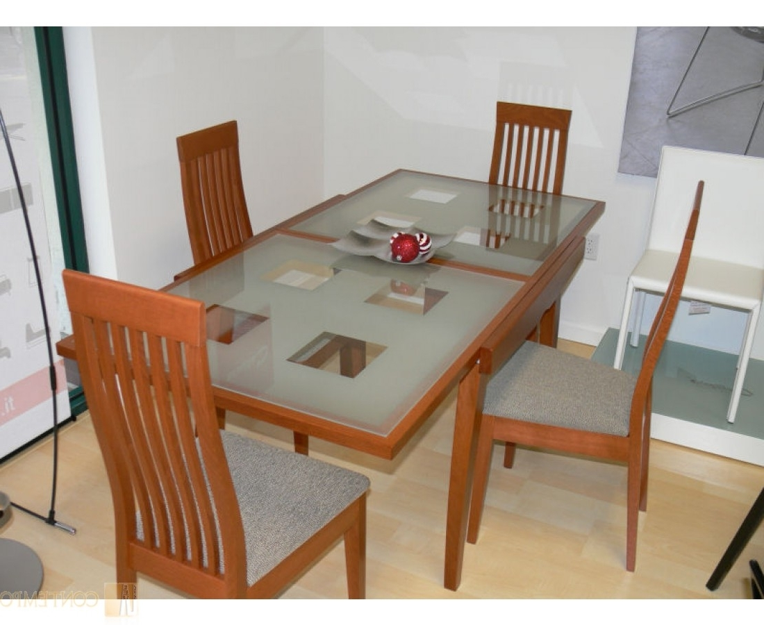 Interior Design Blog Intended For Wood Glass Dining Tables (View 8 of 25)