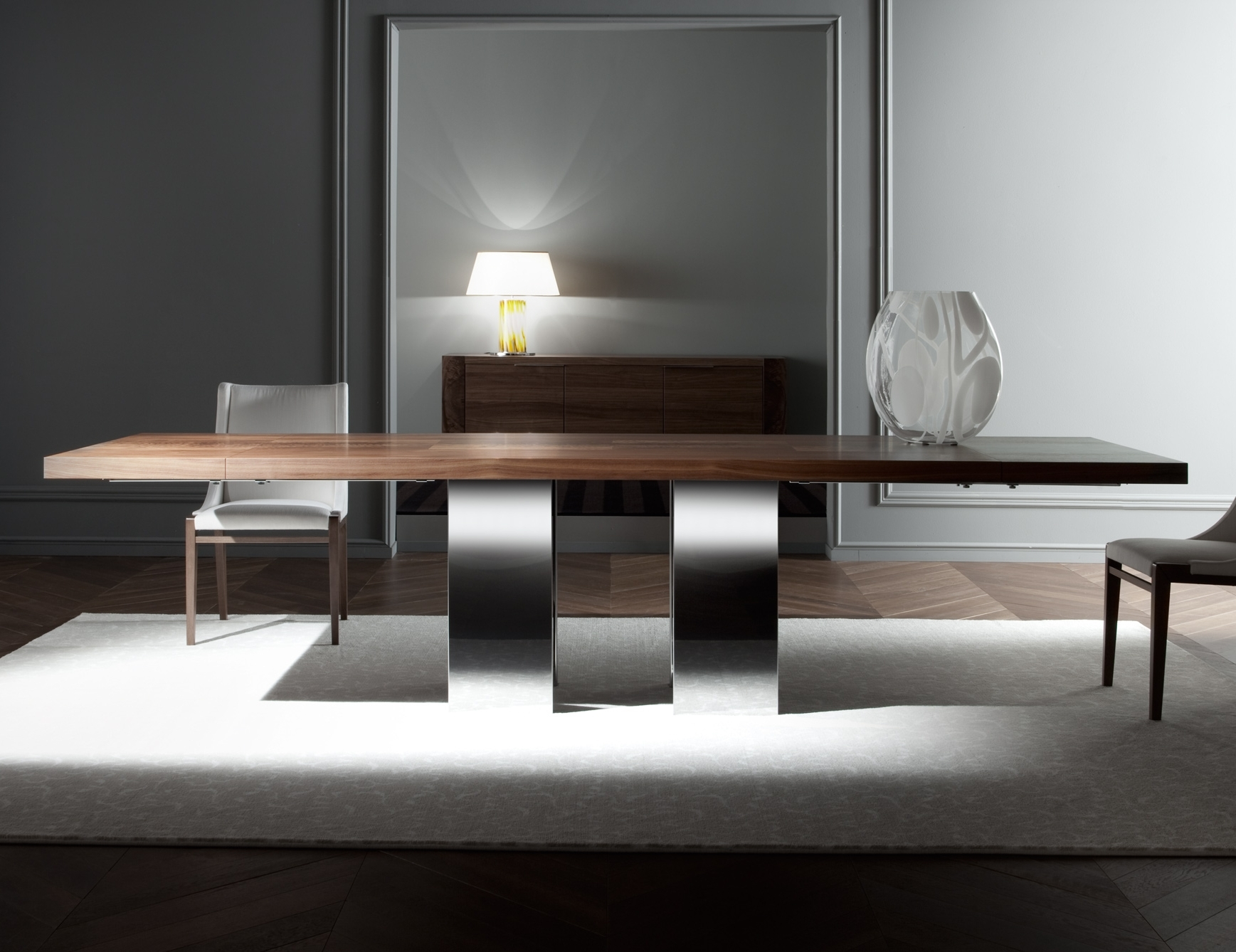 Italian Dining Tables Pertaining To Well Known Nella Vetrina Costantini Pietro Soho 9111 Modern Italian Dining Table (Gallery 23 of 25)