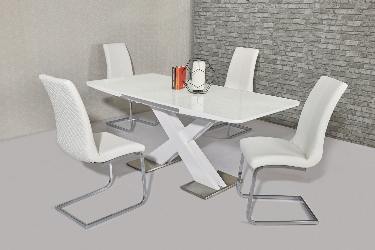 Italian Dining Tables With Regard To Most Current White Extending Dining Tables (View 19 of 25)