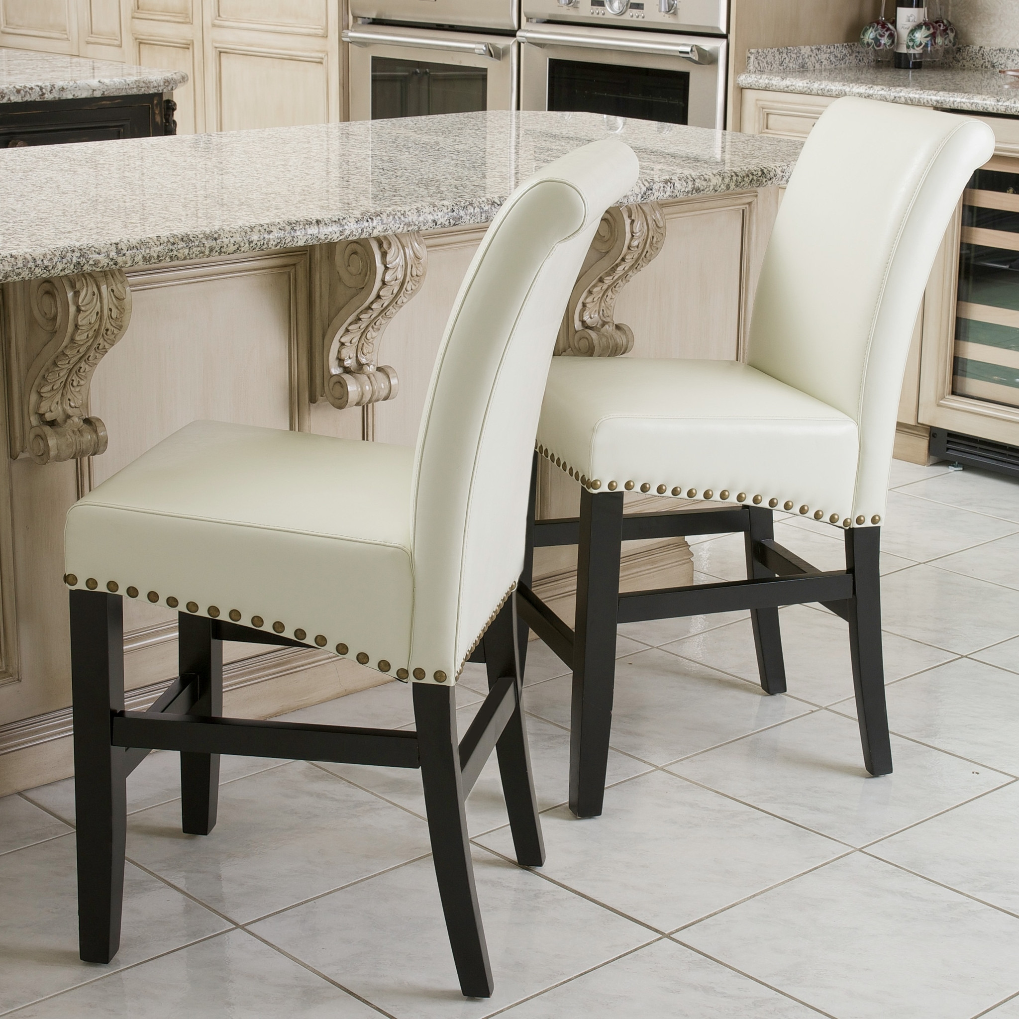 Ivory Leather Dining Chairs For Popular Impressive Ivory Leather Dining Room Chairs – Esescatrina (View 13 of 25)