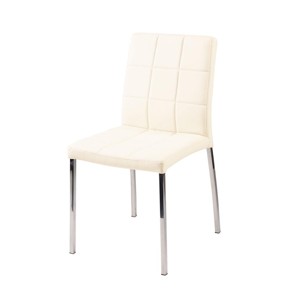 Ivory Leather Dining Room Chairs - Kallekoponen pertaining to Well-known Ivory Leather Dining Chairs