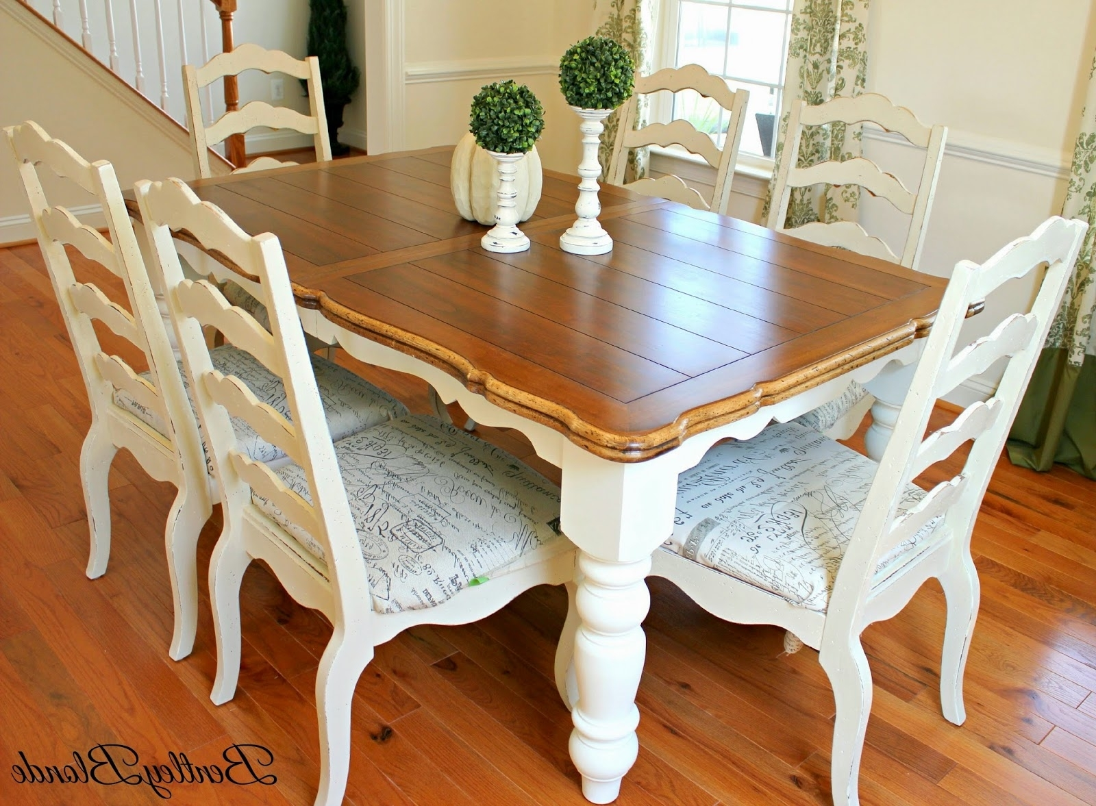 Ivory Painted Dining Tables Within 2017 Ivory Painted Kitchen Table And Chairs Img Edit Plus Pink (View 8 of 25)