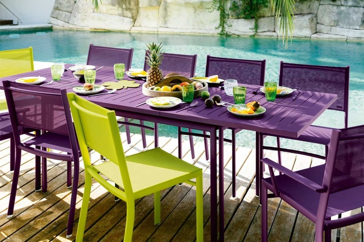 Jardin In Extending Outdoor Dining Tables (Gallery 24 of 25)