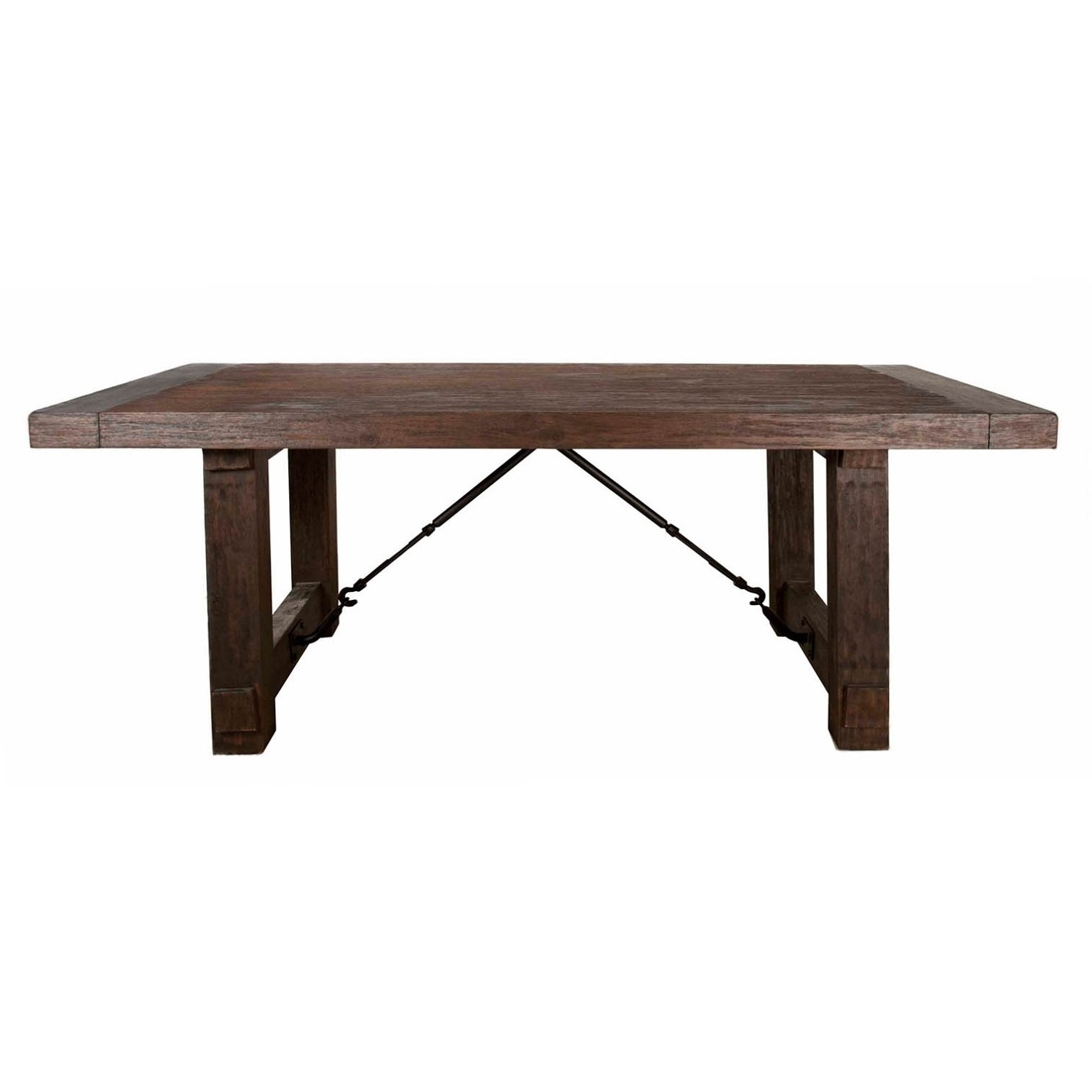 Java Dining Tables Pertaining To Well Known Shop Cedric Rustic Java Acacia Extension Dining Table – Brown – On (Gallery 14 of 25)