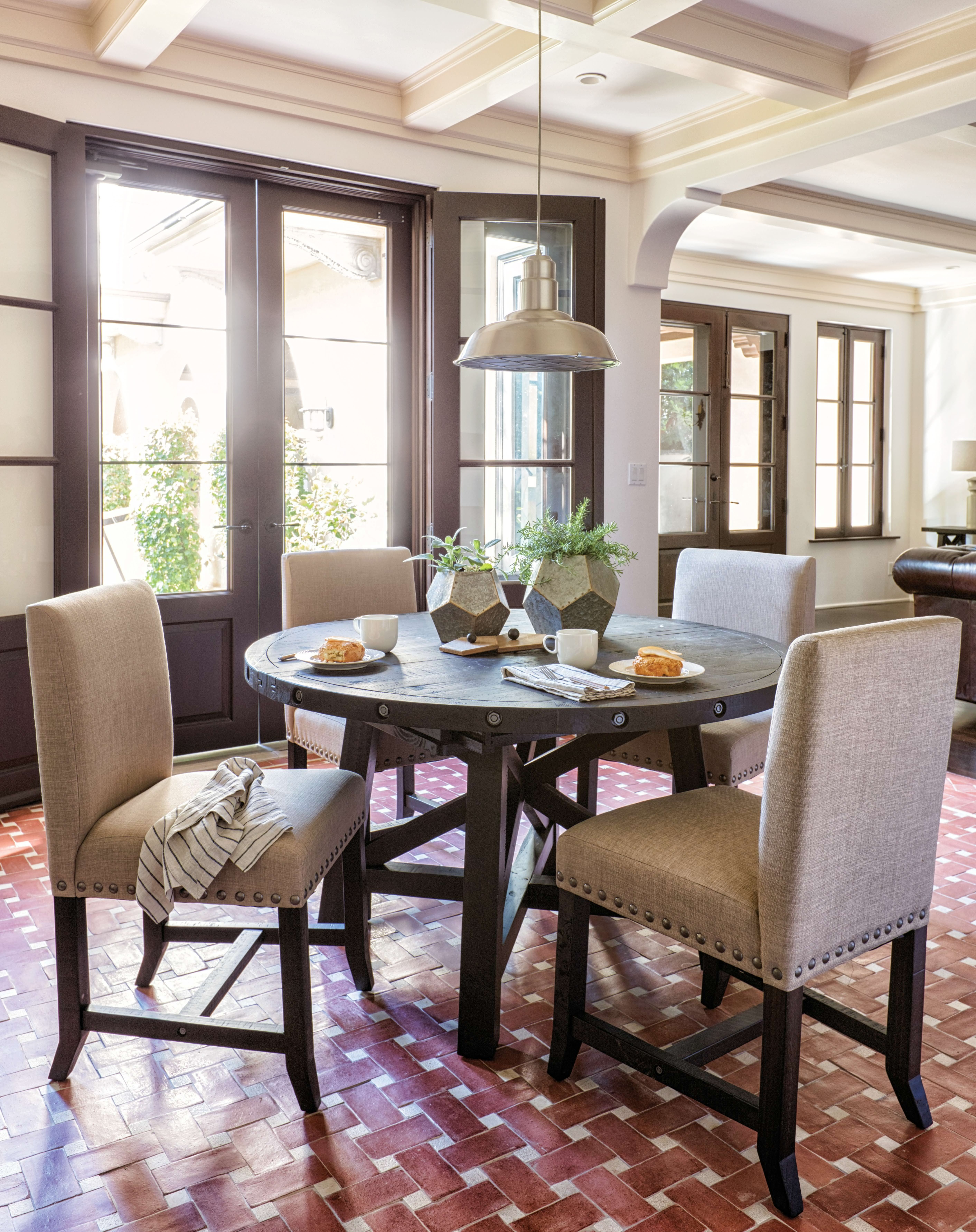 Jaxon 5 Piece Extension Round Dining Sets With Wood Chairs Within Well Known Jaxon 5 Piece Round Dining Set. This Dining Room Set Offers The (Gallery 5 of 25)