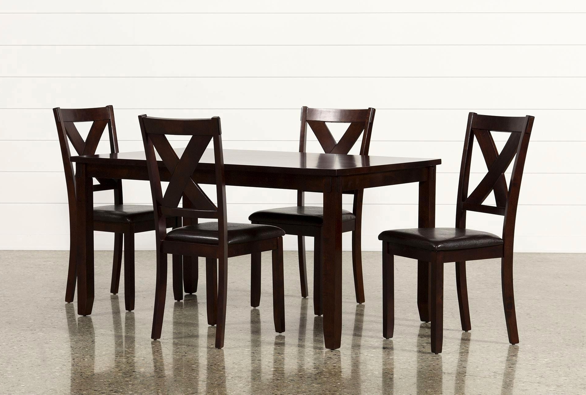 Jaxon Grey 5 Piece Extension Counter Sets With Wood Stools With 2018 Cute Smart Shop Dining Room Tables Living Spaces Sets Living Spaces (Gallery 23 of 25)