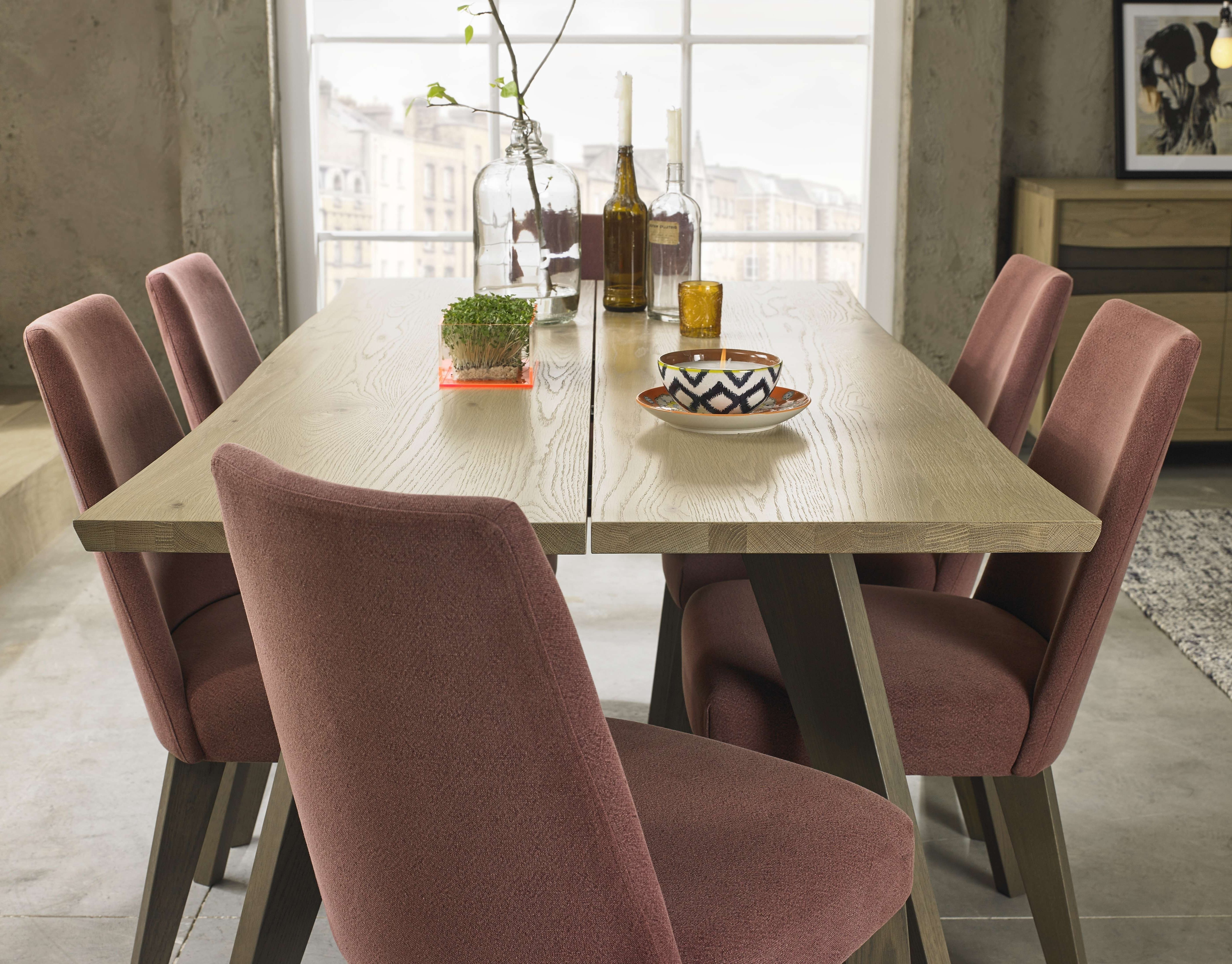 Jaxon Grey 5 Piece Round Extension Dining Sets With Upholstered Chairs Inside Favorite Ashton Round Pedestal Dining Table Elegant Kitchen Dining Area (View 15 of 25)