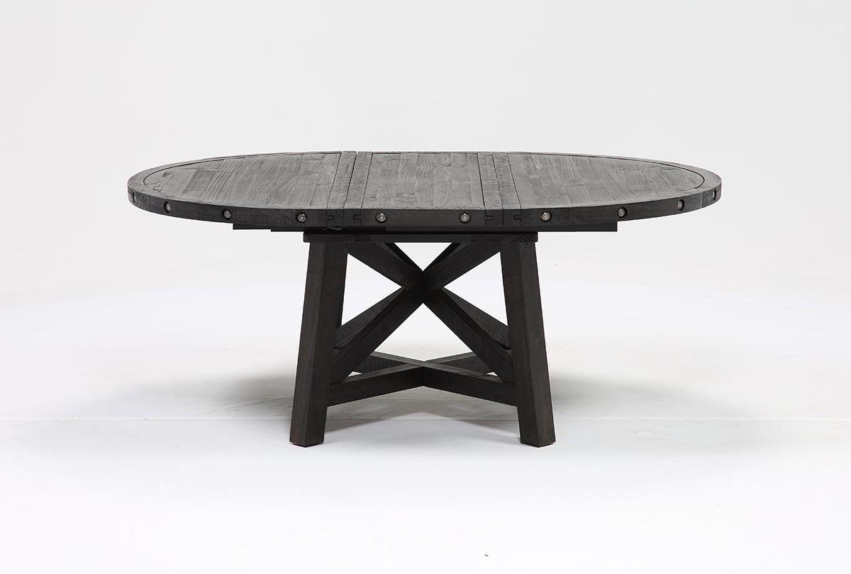 Jaxon Round Extension Dining Tables Regarding Popular Jaxon Round Extension Dining Table (View 2 of 25)