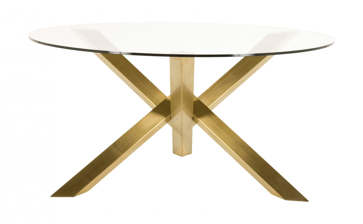 Jayson Home In Preferred Brushed Metal Dining Tables (Gallery 24 of 25)