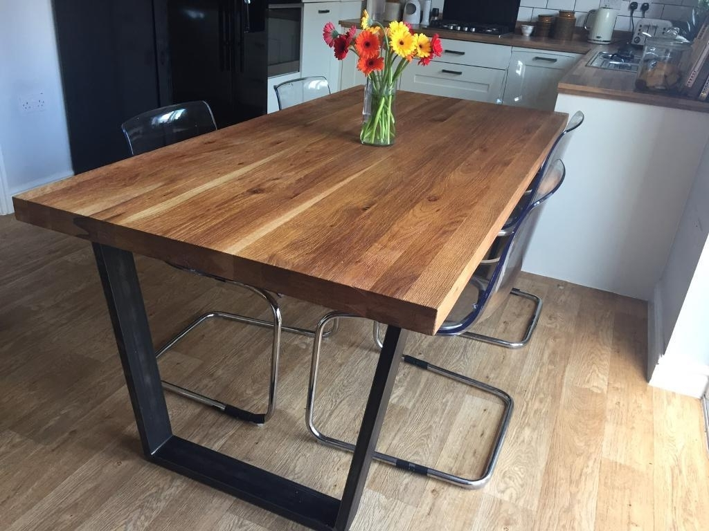John Lewis Calia 8 Seater Dining Table, Oak (Gallery 4 of 25)