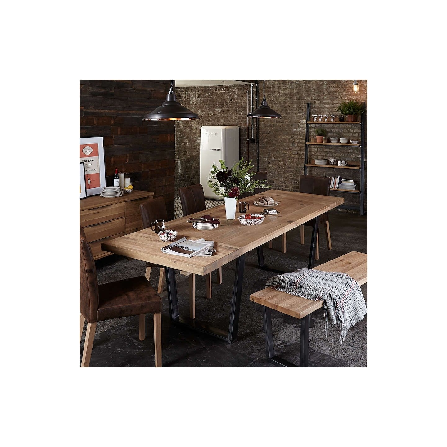 John Lewis & Partners Calia 8 12 Seater Extending Dining Table, Oak Throughout Best And Newest Extendable Dining Tables With 8 Seats (View 22 of 25)