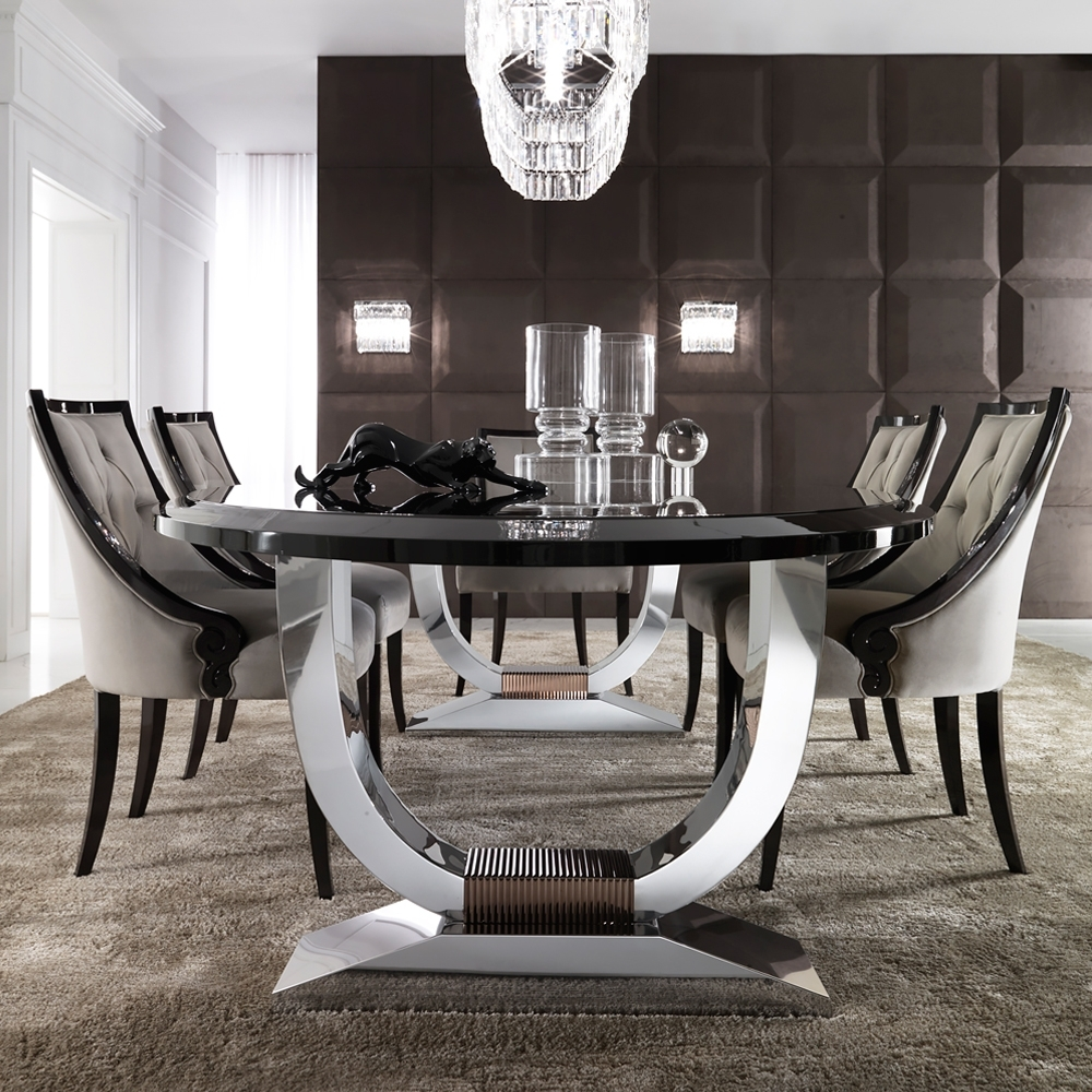 Juliettes Interiors For Most Recent Chrome Dining Room Sets (Gallery 7 of 25)