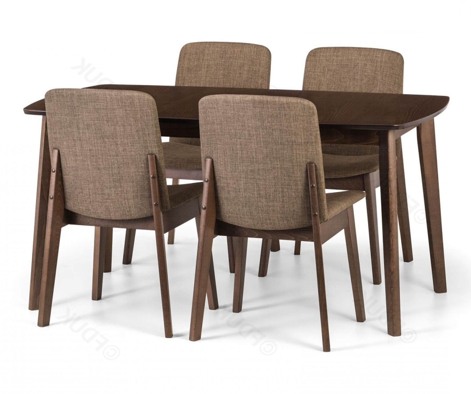 Kensington Extending Dining Table With 4 Chairs Throughout Trendy Extending Dining Tables And 4 Chairs (View 13 of 25)