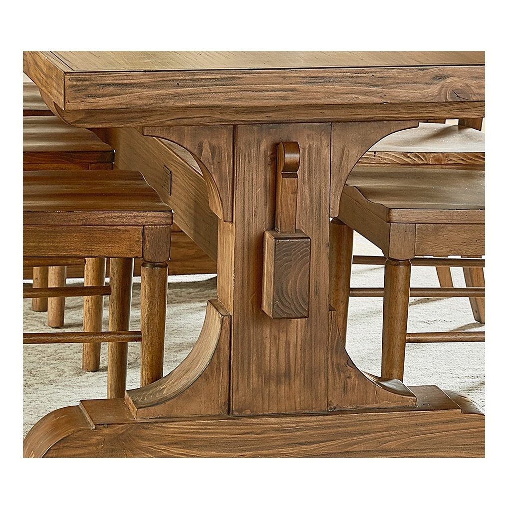 Keyed Trestle Table – Tables – Magnolia Home (View 5 of 25)