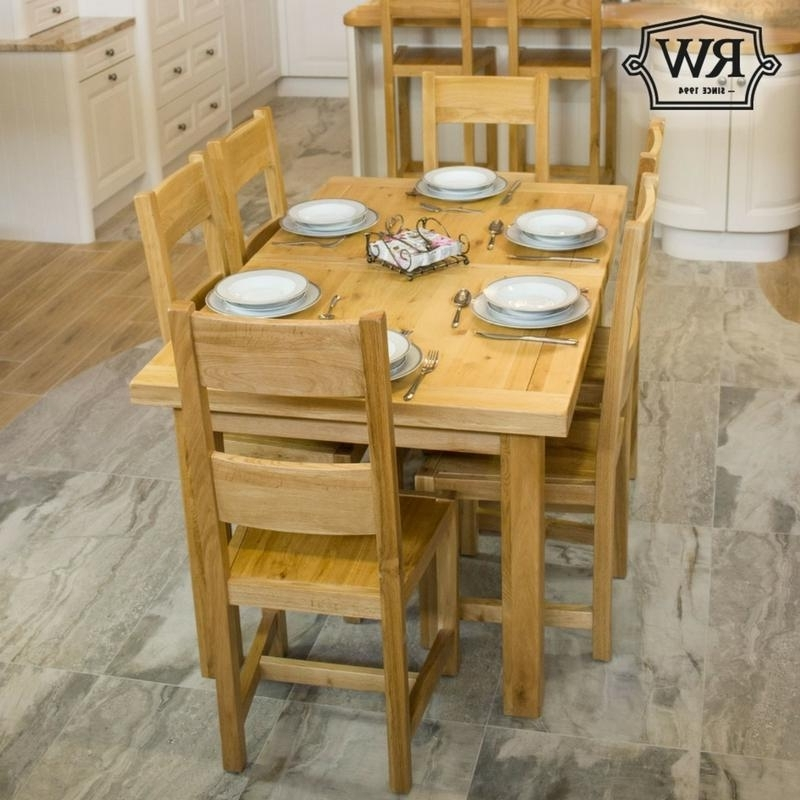 Kingston 5Ft Oak Extending Dining Table – Rathwood Uk Throughout Well Known Kingston Dining Tables And Chairs (View 7 of 25)