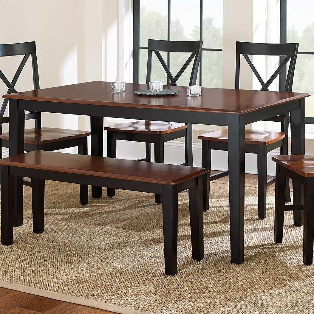 Kingston Dining Tables And Chairs Regarding Most Up To Date Vendor 3985 Kingston Nt3660Tk Casual Rectangular Dining Table (View 11 of 25)