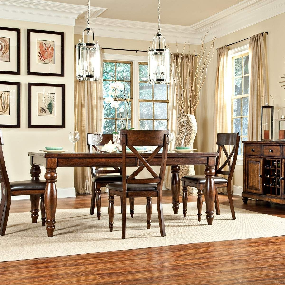Kingston, Room Set And Clean Upholstery Throughout Kingston Dining Tables And Chairs (View 9 of 25)