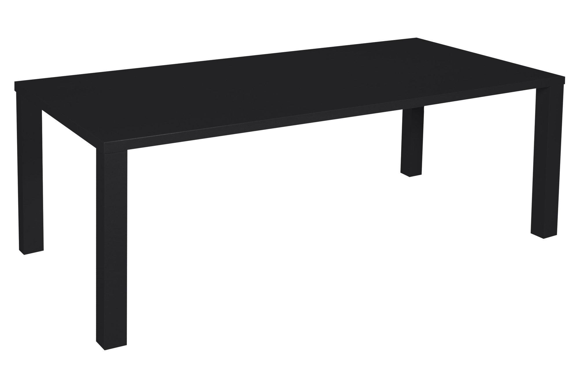 Kirribilli Black Gloss Dining Table