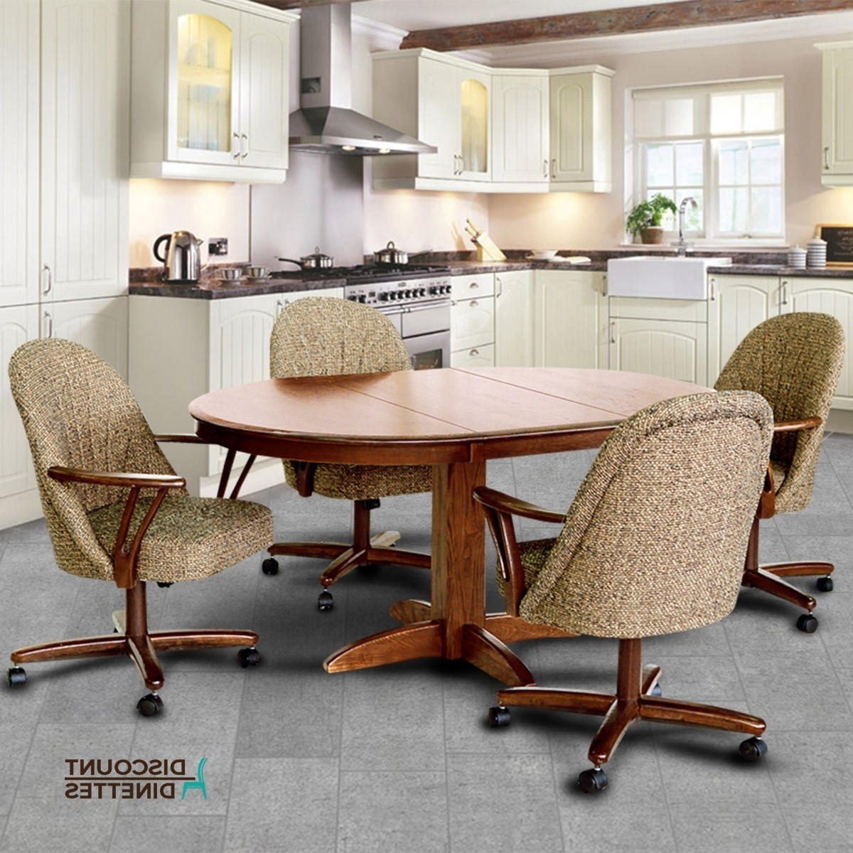 Kirsten 5 Piece Dining Sets For Current Chromcraft Furniture T250 607 And C127 936 5Pc Dinette Set (View 10 of 25)