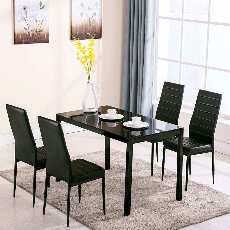 Kitchen And Dining Chair : Unusual Dining Tables Table Furniture Throughout Newest Macie 5 Piece Round Dining Sets (View 25 of 25)