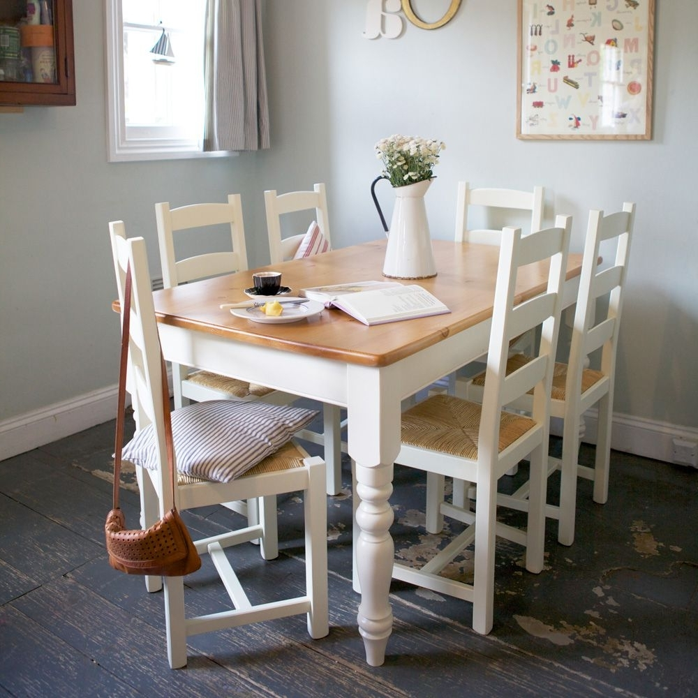 Kitchen Table Ideas With Regard To Ivory Painted Dining Tables (View 2 of 25)