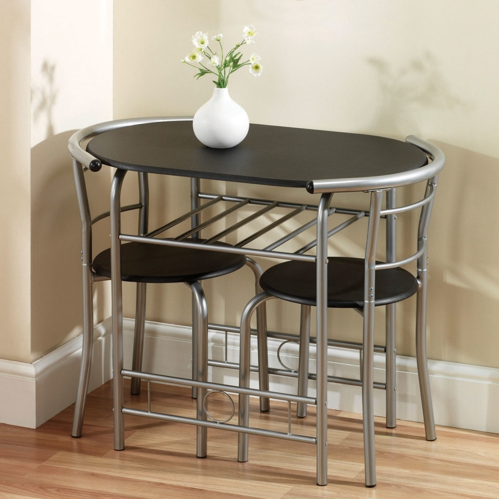 Kitchen : Two Seater Table Table And Chairs Dining Table Chairs with Widely used Two Chair Dining Tables