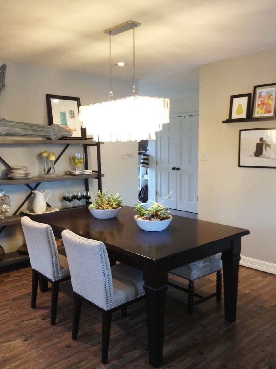 Kitchen : Winsome Dining Table Lighting Ideas 16 Crystal Chandelier with regard to Most Up-to-Date Dining Tables Lighting